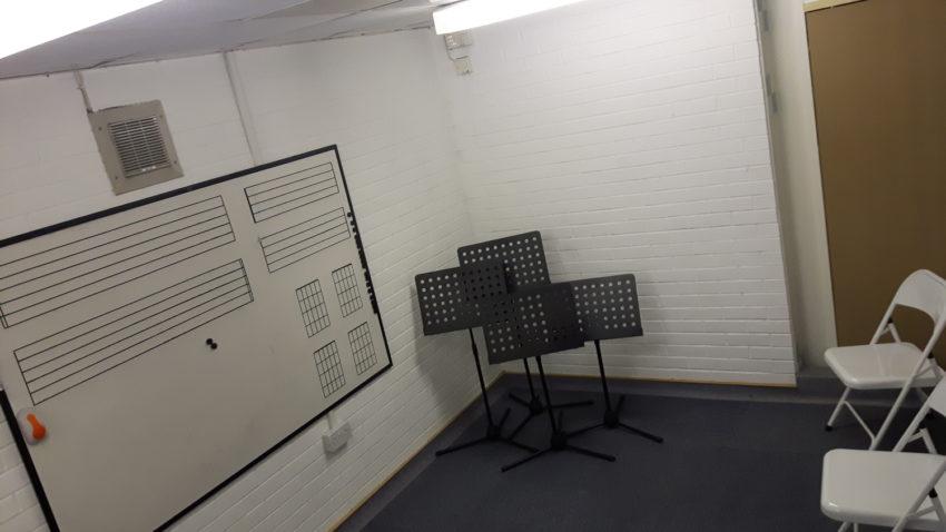 New music room