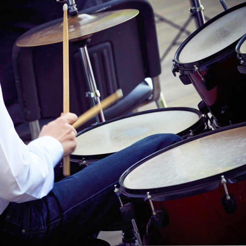Private music lesson - drums