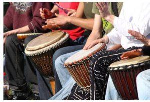 African Drumming Workshops – here we go